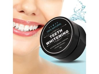 Charcoal Teeth Whitening - Tandblekning