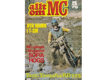 Allt Om Mc 1976-5 Yamaha RD 125 DX..Sofia Hogs Mc-Klubb