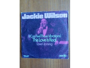 JACKIE WILSON : THIS LOVE IS REAL Vinylsingel