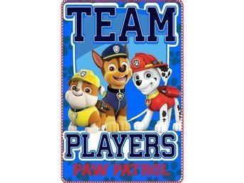Paw Patrol fleece filt