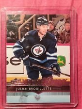 Upper Deck- Young Guns- Julien Brouillette