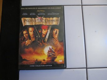 PIRATES OF CARIBBEAN - SVARTA PÄRLANS FÖRBANNELSE (DUBBEL-DVD).