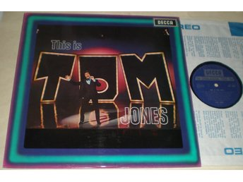 Tom Jones LP This Is UK VG++