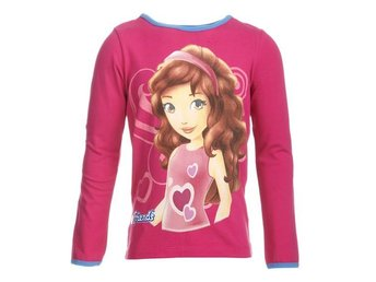 LEGO WEAR T-SHIRT FRIENDS 'OLIVIA', CERISE (128)