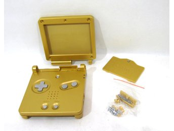 GBA SP nytt skal - guld - Game Boy Advance