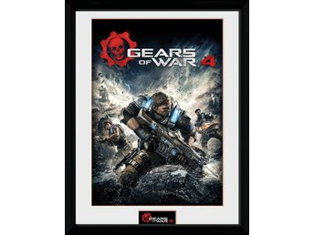 Gears of War 4: Collector Print - Game Cover