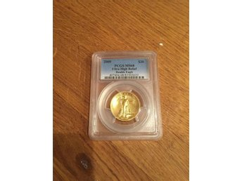 2009 Ultra high relief gold double eagle MS68 - Malmö - 2009 Ultra high relief gold double eagle MS68 - Malmö