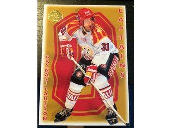 1994-95 Swedish Leaf Captains #167 Peter Larsson Brynäs - Torshälla - 1994-95 Swedish Leaf Captains #167 Peter Larsson Brynäs - Torshälla