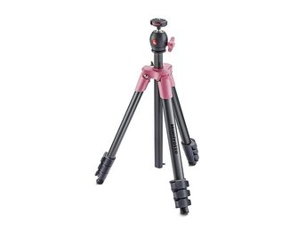 MANFROTTO Stativkit Compact MKCOMPACTLT-PK Light Rosa