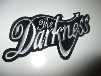 The Darkness tygmärke / patch (hårdrock, glamrock)