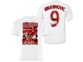Zlatan Ibrahimovic tröja med tryck fram & bak - MEDIUM - Markaryd - Zlatan Ibrahimovic tröja med tryck fram & bak - MEDIUM - Markaryd