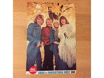 ABBA, två miniposter och en affisch från 70-talet - Lidingö - ABBA, två miniposter och en affisch från 70-talet - Lidingö