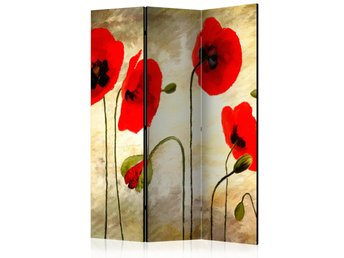 Rumsavdelare - Golden Field of Poppies Room Dividers 135x172