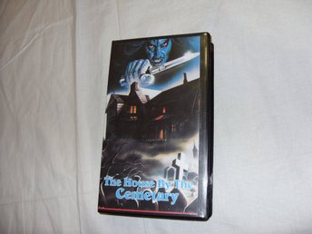 The House By The Cemetary Skräck Kult Film Lucio Fulci 1981 VHS PAL Engelsk