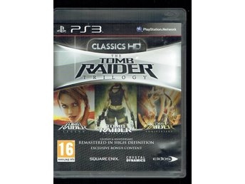 PS3 - The Tombraider trilogy (med manual)
