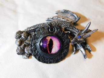 Draköga Hänge Dragon Eye Pendant Nr 6  ( 50 mm )