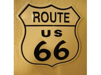 Route 66 USA skylt