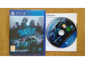 PlayStation 4/PS4: Need for Speed