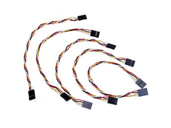 5pcs 4 Pin 20cm 2.54mm Jumper Cable DuPont Wire For Ardui...