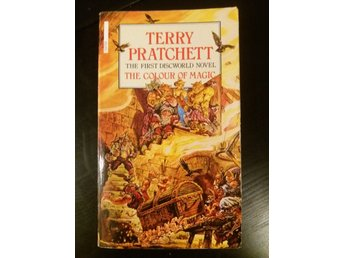 "Terry Pratchett ""The Colour of magic"" Discworld pocket"