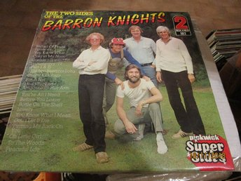 THE TWO SIDES OF THE BARRON KNIGHTS - DUBBEL LP