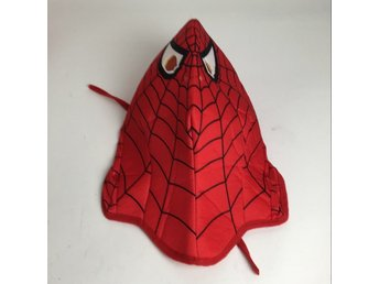 Spidermanmask, Röd/Svart