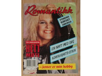 THE RUNAWAYS / Lita Ford in Norwegian magazine Romantikk 1989-49