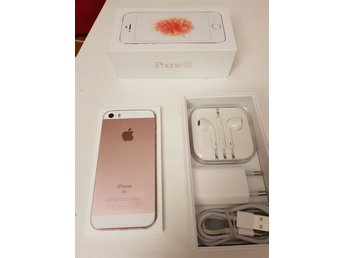 Iphone SE, 32gb, rosegold, olåst