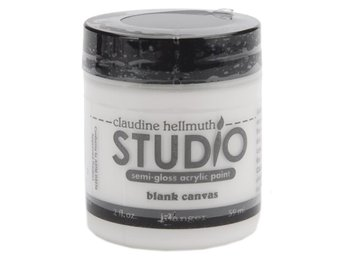 Studio Akrylfärg 59ml Mixed media Claudine Hellmuth Vit
