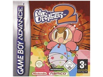 Mr Driller 2 - Gameboy Advance