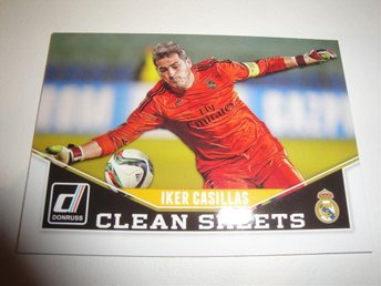 Panini Donruss Soccer 2015 - Clean Sheets - IKER CASILLAS - Real Madrid