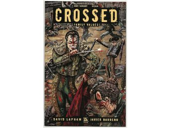 Crossed: Family Values # 7 Auxiliary Cover NM Ny Import REA!