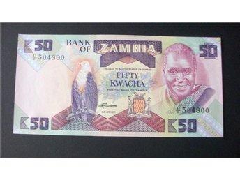 109) ZAMBIA 50 KWACHA (1986-88) UNC - Luleå - 109) ZAMBIA 50 KWACHA (1986-88) UNC - Luleå