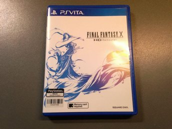 Final Fantasy X hd remaster (Ps vita)