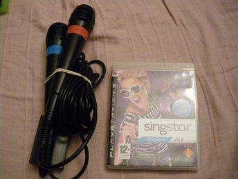 SingStar Singstar vol.2 med mikrofoner Playstation 3
