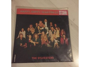 "THE SYLVESTERS - HAPPY,HAPPY YEAR FOR US. (12"")"