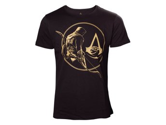 T-Shirt - Spel - Assassins Creed Origins - Golden Bayek - XL