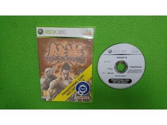 Tekken 6 PROMOTIONAL COPY Xbox 360 - Västerhaninge - Tekken 6 till Xbox360 Skick enligt bild. Fungerar på din svenska/europeiska konsol.Engelsk text/språk i spelet. Vid köp av fler varor med fraktkostnad betalar du endast högsta enskilda frakten, resten bjuder jag på :) Alla varor är  - Västerhaninge