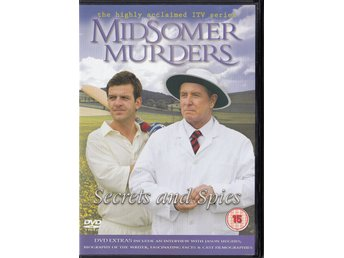 Midsomer Murders Secrets and Spies 2009 DVD