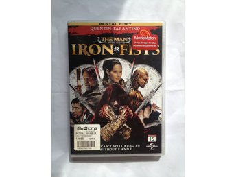 DVD - The Man With The Iron Fists