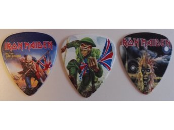 Iron Maiden Plektrum 3-pack