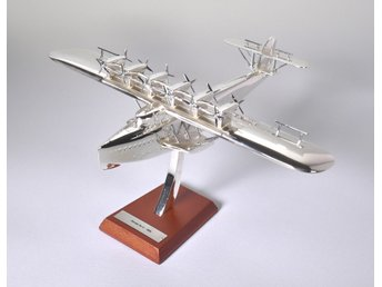 Atlas Editions Dornier Do X - 1/200 scale - silver-plated!
