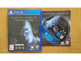 PlayStation 4/PS4: Shadow of Mordor: Game of the Year Edition