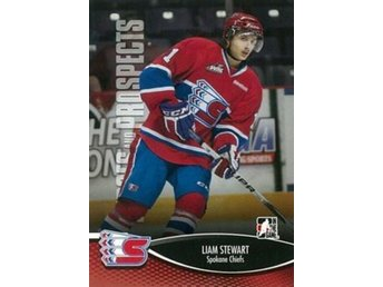 2012-13 ITG Heroes and Prospects #144 Liam Stewart WHL
