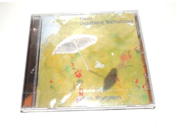 NY OÖPPNAD CD Bach Goldberg Variations Johan Hugosson