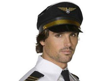 Pilothatt - maskerad - hatt - pilot (329434825) ᐈ PartyPieces på ... 1e1df15b688c0