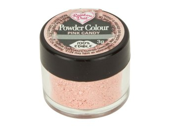 Rainbow Dust Ätbar Pulverfärg Pink Candy Rosa Powder Colour RD0905