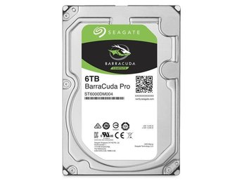 "Seagate BarraCuda PRO Desktop HDD 3,5"" 6TB, 128MB, 7200RPM"