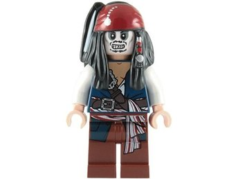 Lego - Figur Pirates of the Caribbean Jack Sparrow Skeleton skelett LF20-1