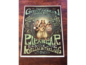 KONSERTPOSTER /Papa Bear And The Easy Love / Kelly McFarling With Doncat